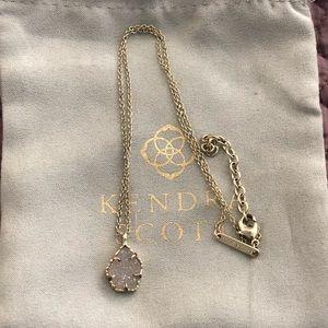 Kendra Scott Iridescent Drusey Necklace